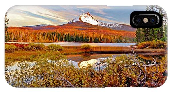Big Lake And Mt Washington Oregon IPhone Case