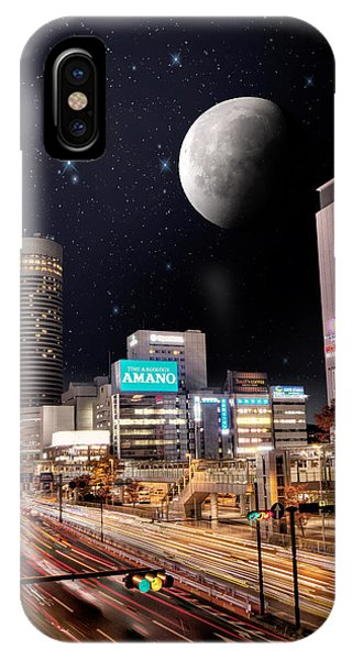Big Moon Yokohama IPhone Case