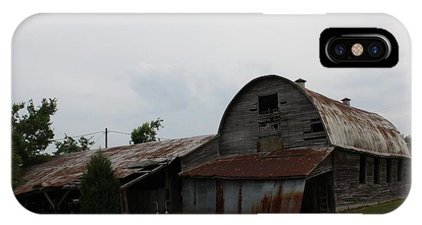 Big Old Barn Phone Case by Terry Scrivner