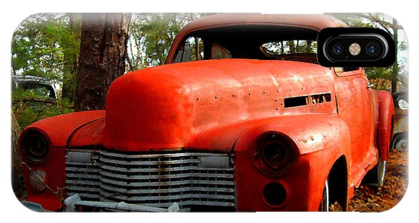 Big Orange Old Car Nose IPhone Case