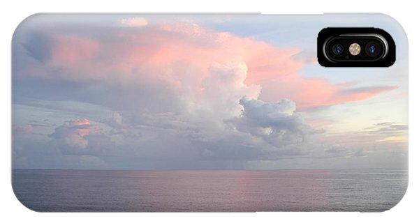 Big Pink Cloud Over Sea IPhone Case