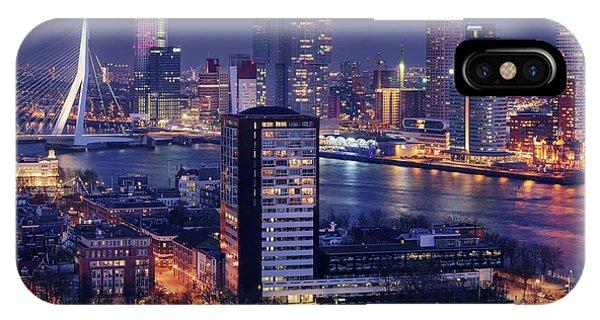 Hotel iPhone Case - Big Rotterdam 2 by Juan Pablo De