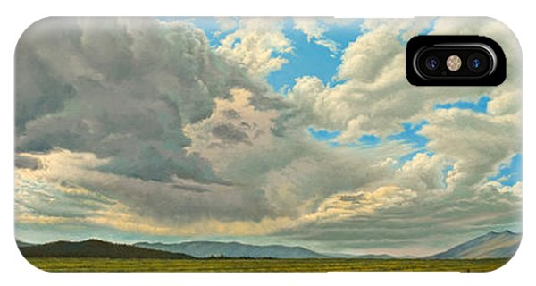 Skyscape iPhone Case - Big Sky by Paul Krapf