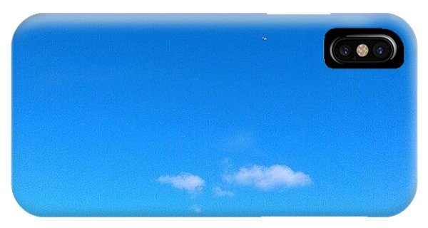 Cloud iPhone Case - Big Sky Valley by CML Brown