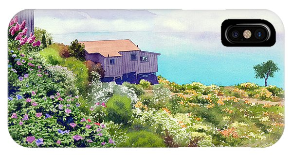 Big Sur Cottage IPhone Case