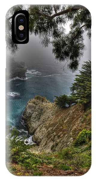 Big Sur Julia Pfeiffer State Park-1 Central California Coast Spring Early Afternoon IPhone Case
