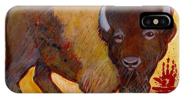 Big Tatanka Buffalo IPhone Case