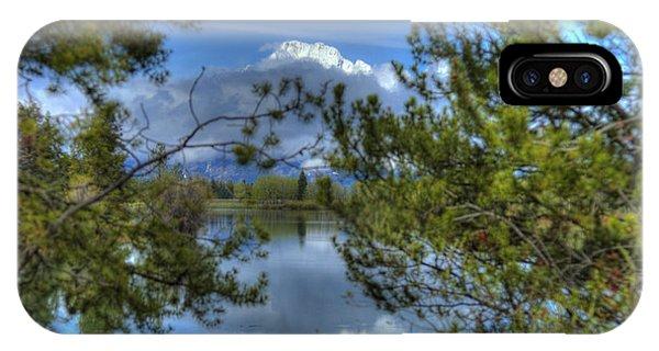 Big Teton IPhone Case