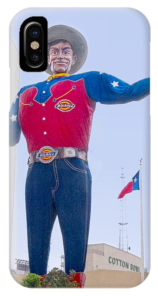 Big Tex And The Cotton Bowl  IPhone Case