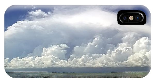 Big Thunderstorm Over The Bay IPhone Case