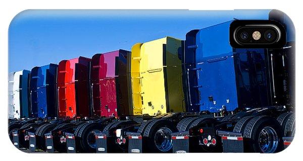 Crossville iPhone X Case - Big Trucks 2 by Douglas Barnett