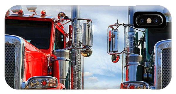 Sleeper iPhone Case - Big Trucks by Bob Orsillo