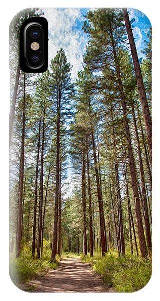 Big Valley Views Mvsta Trail IPhone Case