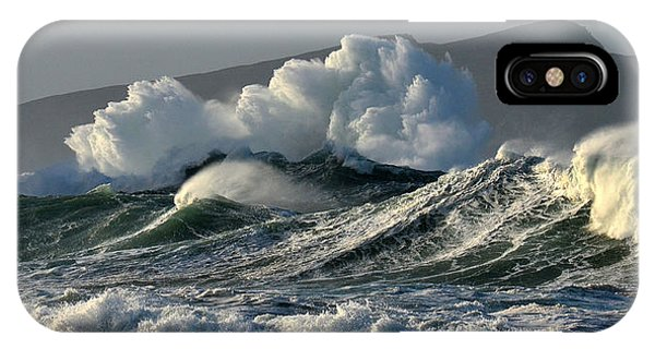 Big Waves At Clogher Beach IPhone Case