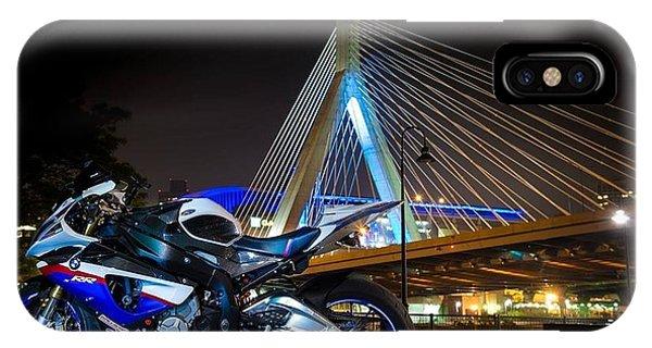 Bike And Bridge IPhone Case