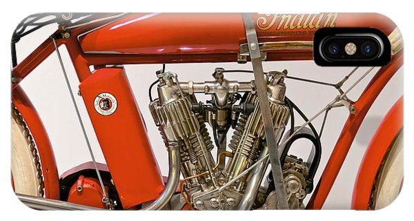 Bike - Motorcycle - Indian Motorcycle Engine IPhone Case