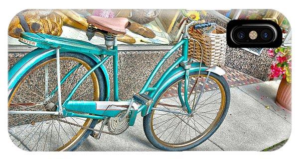 Bike Ride To The Bake House Phone Case by John Debar