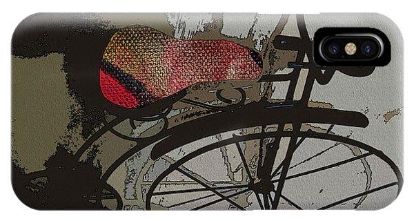 Bike Seat View IPhone Case