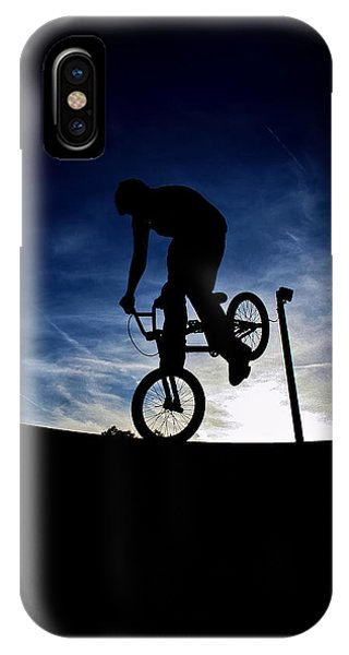 Bike Silhouette IPhone Case