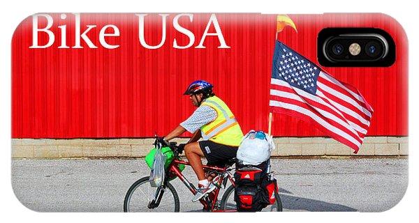 Bike Usa IPhone Case