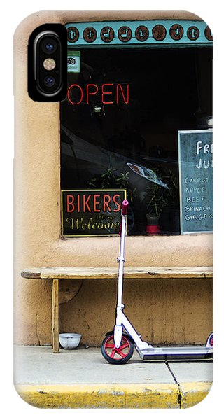Bikers Welcome IPhone Case