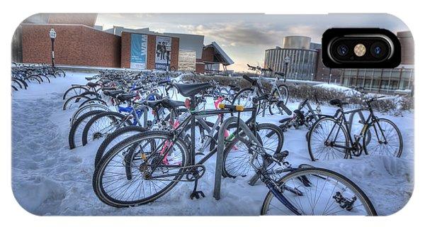 Bikes At University Of Minnesota  IPhone Case