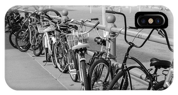 iPhone Case - Bikes by George Fredericks