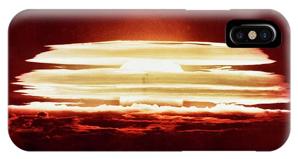 Micronesia iPhone Case - Bikini Atoll Nuclear Test by Us Department Of Energy