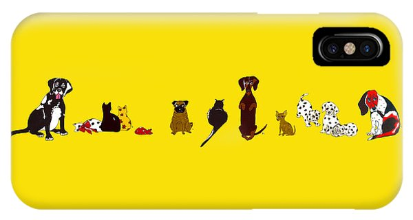 Bill And Friends IPhone Case
