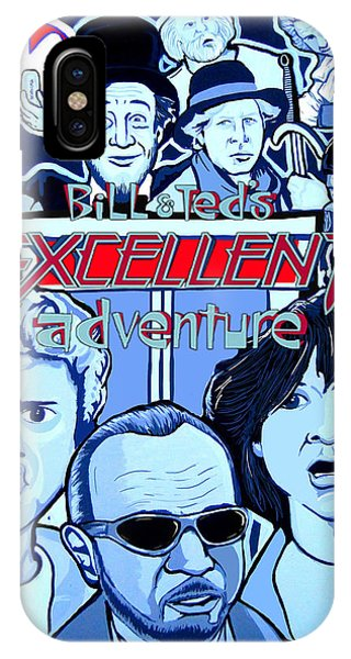 Bill And Teds Excellent Adventure Phone Case by Gary Niles