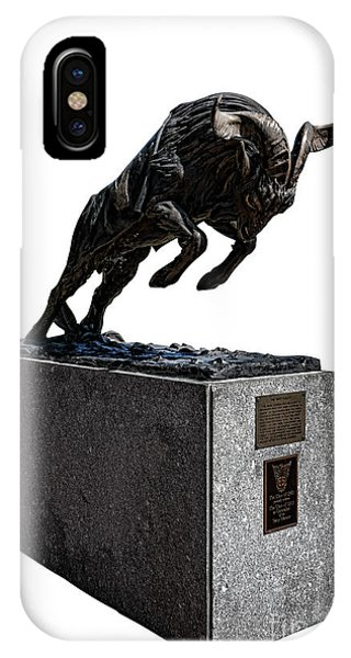Naval Academy iPhone Case - Bill The Goat by Olivier Le Queinec