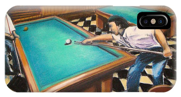Billiard Hall IPhone Case