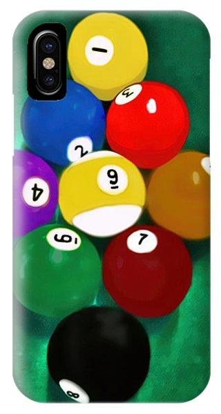 Billiards Art - Your Break 1 IPhone Case
