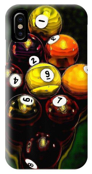 Billiards Art - Your Break 6 IPhone Case