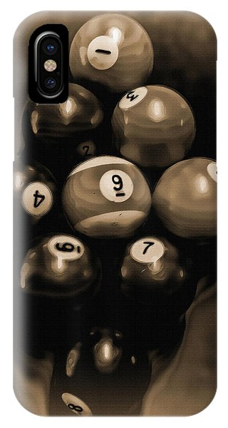 Billiards Art - Your Break - Bw Opal IPhone Case