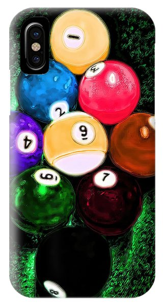 Billiards Art - Your Break IPhone Case