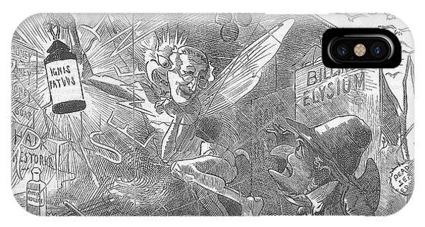 Billings Elysium Editorial Art IPhone Case