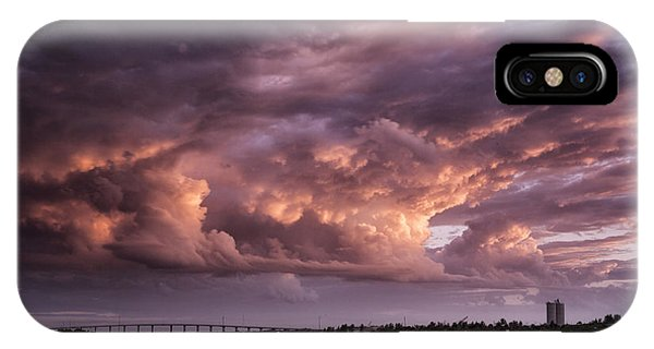 Billowing Clouds IPhone Case