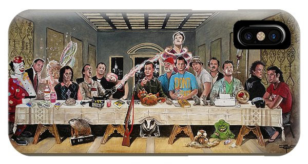 Bills Last Supper IPhone Case
