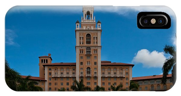 Biltmore Hotel Coral Gables IPhone Case