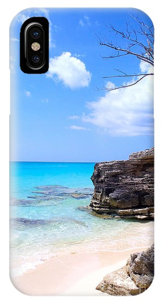 Bahamas iPhone Case - Bimini Beach by Carey Chen