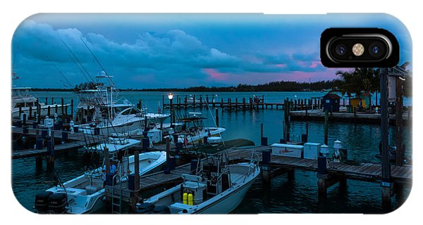 Bimini Big Game Club Docks After Sundown IPhone Case