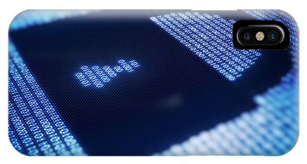 Electronic iPhone Case - Electronic Data Security by Johan Swanepoel