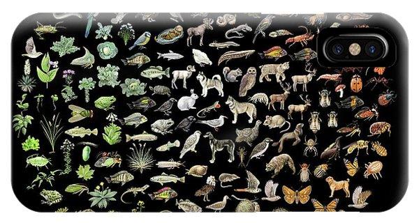 Biodiversity Phone Case by Nicolle R. Fuller