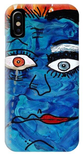 Bipolar Blues IPhone Case