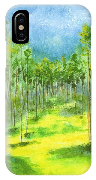 Birch Glen IPhone Case