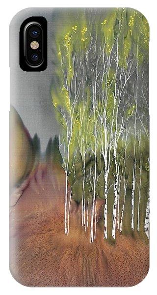 Birch Grove 1 IPhone Case