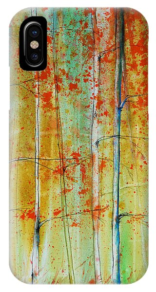 Birch Tree Forest IPhone Case