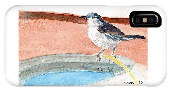 Bird Bath IPhone Case
