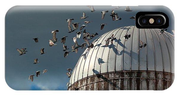 Silos iPhone Case - Bird - Birds by Mike Savad